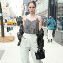 Coco Rocha attends Longchamp during New York Fashion Week 2020 - 454 x 681
