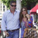 Sofia Vergara and fiancee Nick Loeb shopping in Beverly Hills, CA (August 21)