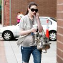 Michelle Trachtenberg Leaves A Doctor's Office In Los Angeles - May 17, 2010