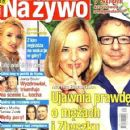 Monika Richardson, Zbigniew Zamachowski - Na żywo Magazine Cover [Poland] (19 July 2012)