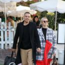 Ashlee Simpson and Evan Ross – Leaving The Ivy in West Hollywood - 454 x 681