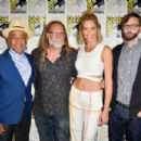 Tricia Helfer – 'Creepshow' Panel at Comic Con San Diego 2019 - 454 x 302