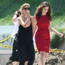 Emmy Rossum On The Set Of Her New Music Video 2007-08-24