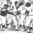 Johnny winning the 1964 All Star Game with a walk off home run