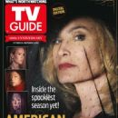 Jessica Lange - TV Guide Magazine Cover [United States] (28 October 2013)