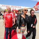 Amber Rose attends the Launch of Virgin America's First Flight from Los Angeles to Philadelphia at Los Angeles International Airport in Los Angeles, California - April 4, 2012 - 454 x 368
