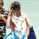 Keira Knightley in Bikini on the beach in Pantelleria