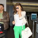 Eva Mendes at LAX airport in Los Angeles, CA (June 2)