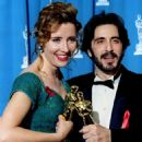 Emma Thompson and Al Pacino At The 65th Annual Academy Awards (1993)