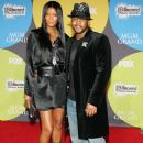 Machiko Harris and actor Rockmond Dunbar arrive at the 2006 Billboard Music Awards at the MGM Grand Garden Arena December 4, 2006 in Las Vegas, Nevada