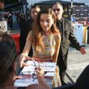 Angela Sarafyan – Signs autographs and greets fans in Hollywood - 454 x 486