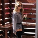 Ashley Tisdale:  Arriving at Millennium Dance Complex in North Hollywood