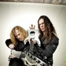 Dave Mustaine  & Chris Broderick - Guitar World Magazine Pictorial [United States] (June 2013)
