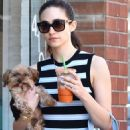 Emmy Rossum With Her Dog – Out in Beverly Hills - 454 x 692