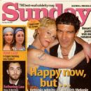 Antonio Banderas - Sunday Magazine Cover [United Kingdom] (25 January 2004)