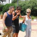 Katie Price and Leandro Penna at the Ocean Club