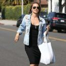 Arielle Kebbel – Shopping in Beverly Hills