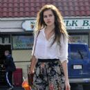 Isabel Lucas - at Nature Mart in Los Feliz - 23/11/10