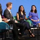 Prince Harry, Meghan Markle, Catherine, Duchess of Cambridge and Prince William, Duke of Cambridge attend the first annual Royal Foundation Forum - 454 x 349