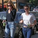 Kristen Stewart and Stella Maxwell out in LA - 454 x 681