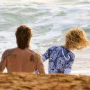 Nicole Kidman and Keith Urban at the beach in Sydney