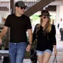 Hilary Duff and Mike Comrie were spotted shopping in Malibu, CA, August 13