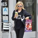 Holly Madison in Leggings – Out in Los Angeles - 454 x 681