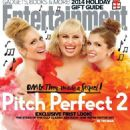 Brittany Snow, Anna Kendrick, Rebel Wilson - Entertainment Weekly Magazine Cover [United States] (28 November 2014)