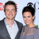 Shantel VanSanten and Robert Buckley