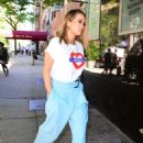 Rita Ora at her Hotel in London - 454 x 686