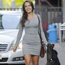 Polly Parsons - Grey Dress
