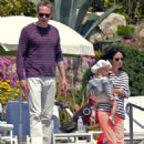 Jennifer Connelly, Paul Bettany arrive at Hotel Du Cap Eden Roc in Cannes, France May 2012