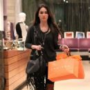 Megan Fox's West Hollywood Holiday Shopping Spree