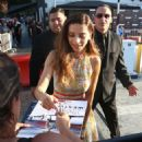 Angela Sarafyan – Signs autographs and greets fans in Hollywood - 454 x 522