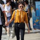 Sarah Hyland at Farmer's Market in Studio City