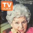 Shirley Booth - TV Guide Magazine Cover [United States] (12 May 1973)