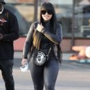 Blac Chyna – Seen leaving a nail salon with a mystery man in Los Angeles
