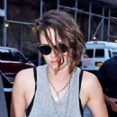 Kristen Stewart Out For Dinner In New York City