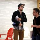 Robert Pattinson Keeps it Casual at a Los Angeles Meeting