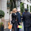 Stella Maxwell – Leaving her hotel in Paris