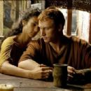 Indira Varma and Kevin McKidd in Rome (2005)