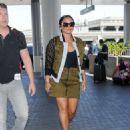 Demi Lovato – Seen At LAX Airport - 454 x 569