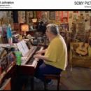 Daniel Johnston plays piano in his garage studio. Photo © Complex Corp., courtesy of Sony Pictures Classics, Inc. - 454 x 281