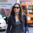 Jessica Biel - Leaving Geoff Howell Studios Office In Chelsea, 2010-05-05