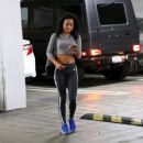 Karrueche Tran Out and about in West Hollywood April 3,2015
