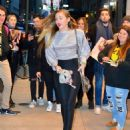 Miley Cyrus – Seen at a Z100 Radio Station in New York