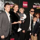 Lars Ulrich of Metallica and family attend the 24th Annual Rock and Roll Hall of Fame Induction Ceremony at Public Hall on April 4, 2009 in Cleveland, Ohio - 454 x 371