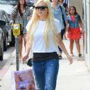 Amanda Bynes Outside Nasty Gal Store On Melrose