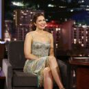 Mandy Moore at 'Jimmy Kimmel Live' in Los Angeles