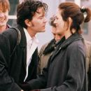 Annabeth Gish and Timothy Hutton